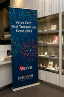 Discover- Verve Card First Transaction- Swarovski Jewelry Times Square